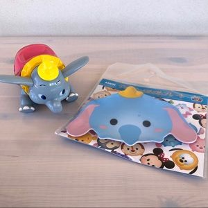Dumbo - Tokyo Disney - Plate & Container